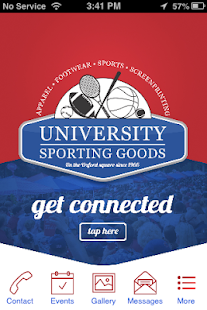 University Sporting Goods - screenshot