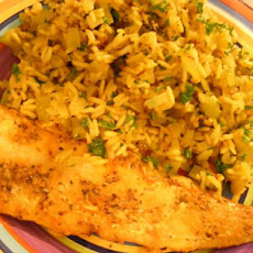 Cajun Fish & Rice Pilaf (21 Day Wonder Diet: Day 19)