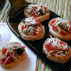 Mama Mia Artichoke and Tomato Bruschetta