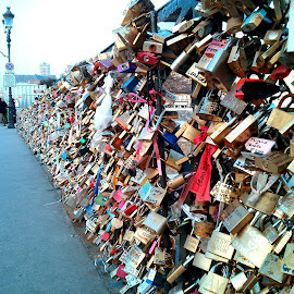 Pad Locks- Notre Dame, Paris by Sajal Gupta - Instagram & Mobile Android (  )