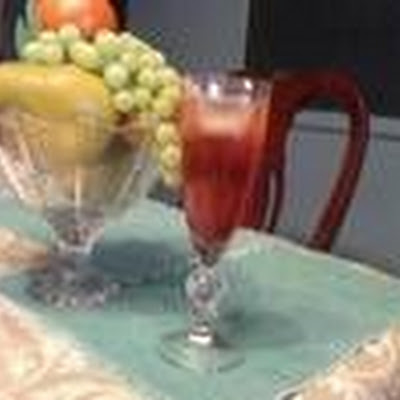 Pomegranate Sparkling Ice tea