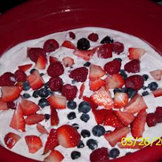 Jayme's Sweet Summer Berry Dessert
