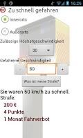 Screenshot of VerkehrsSünder