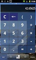 Screenshot of Calculator Widget FREE motifs