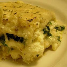 Cheesy Chicken Lasagne