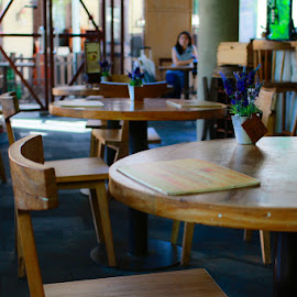 Empty Table by Kunardi Kurniawan - Buildings & Architecture Other Interior ( interior, chair, indonesia, restaurant interior, table )
