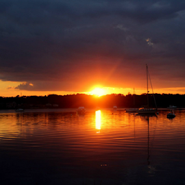 Beautiful.... by Susanne Carlton - Landscapes Sunsets & Sunrises