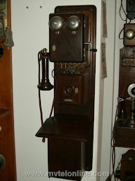 Wood Wall Phones - Western Electric Blake 1
