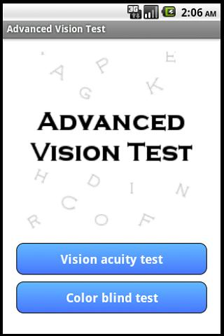 Advanced Vision Test