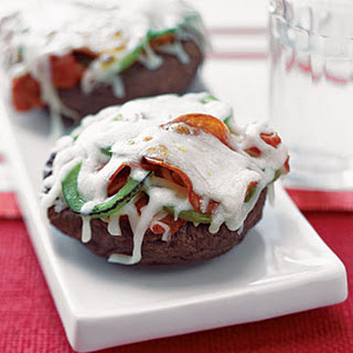 Pepperoni Portobello Pizzas