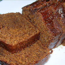 Easy Old Fashioned English Sticky Gingerbread Loaf