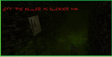 Screenshot of Jeff The Killer VS Slender Man