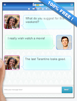 Screenshot of Chat dating & love 100% Free