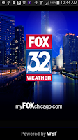 Screenshot of FOX 32 Weather