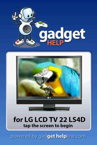 LG LCD TV 22LS4D - Gadget Help