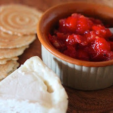 Tomato-Roasted Garlic Freezer Jam