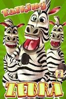 Screenshot of Talking Zebra