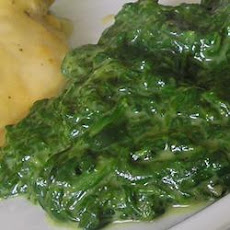 Creamed Spinach III