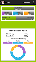 Screenshot of Calorie Counter - Macros