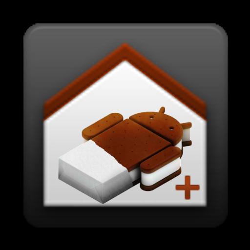 ICS Launcher + LOGO-APP點子