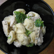 Weight Watchers Tortellini With Alfredo Sauce - Points = 6
