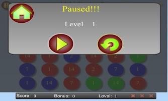 Screenshot of Math Rush