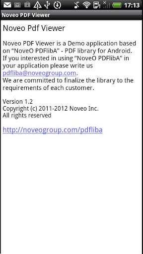 【免費程式庫與試用程式App】NoveO PDFlibA Viewer-APP點子