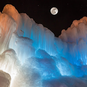 Ice Castles in the Sky by Glenn Pearson - Landscapes Starscapes ( lds photographer, midway ice castle, 5d mk iii )