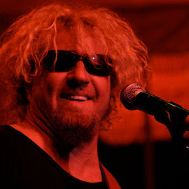Sammy Hagar by Dan Hogle - People Musicians & Entertainers
