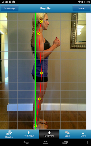 PostureScreen Mobile - screenshot