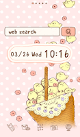 Screenshot of Cute wallpaper★petit chick