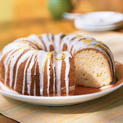 Glazed Lemon Buttermilk Cake