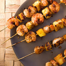 Pineapple-Glazed Shrimp Skewers Recipe