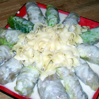 Pork Stuffed Cabbage Rolls