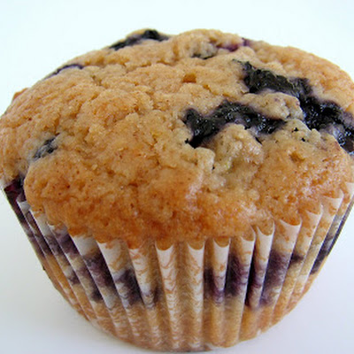 Cinnamon Blueberry Muffins