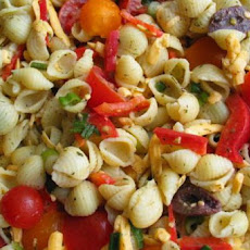 Vegetable Dilly Pasta Salad