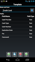 Screenshot of Password Safe