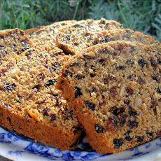 Darjeeling Cranberry, Ginger and Orange Tea Loaf  (Fat-Free)