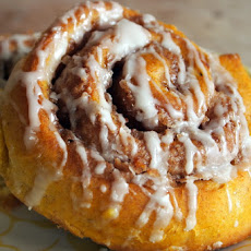Roasted Squash Cinnamon Rolls