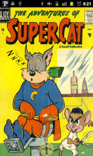 Super Cat Comic Book 1