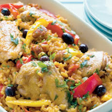 Spanish Chicken Rice Casserole