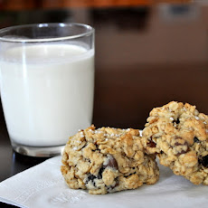 Salted Chocolate Chip Oatmeal Raisin Cookies
