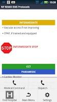 Screenshot of DEMO - NY REMO EMS Protocols