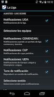 Screenshot of La Liga Soccer