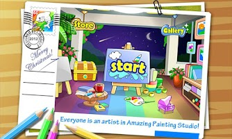 Screenshot of Painting Studio