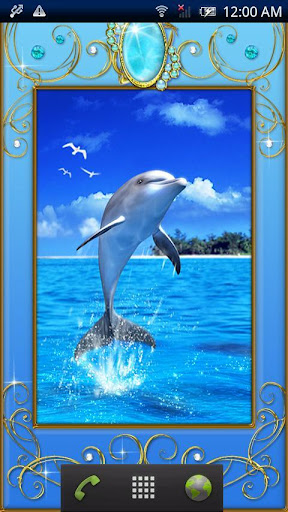 Dolphin -Larimar-