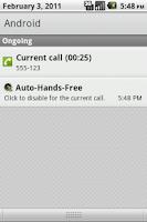 Screenshot of Auto-Hands-Free