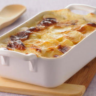 Creamy Scalloped Potatoes with Ham