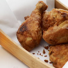 Beer-Battered Buttermilk Fried Chicken