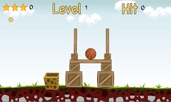 Screenshot of Basket the Ball